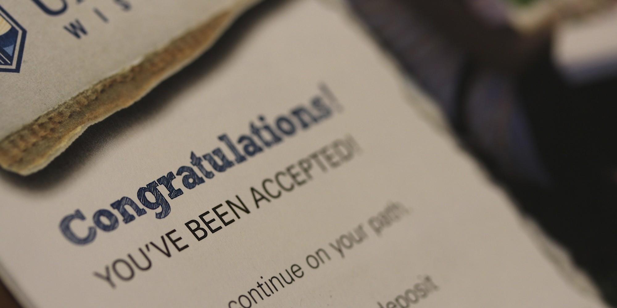 College Applications/Acceptances