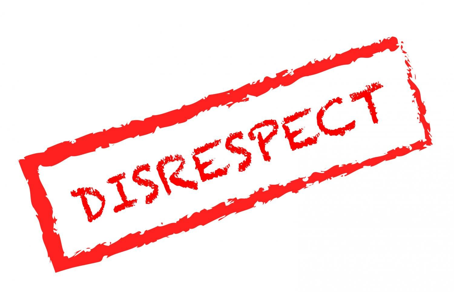 inside look at disrespect in high school