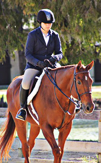RIDE OR DIE. Junior Annaliese Hines competes in a junior equestrian competition. photo/ Jennifer Hines