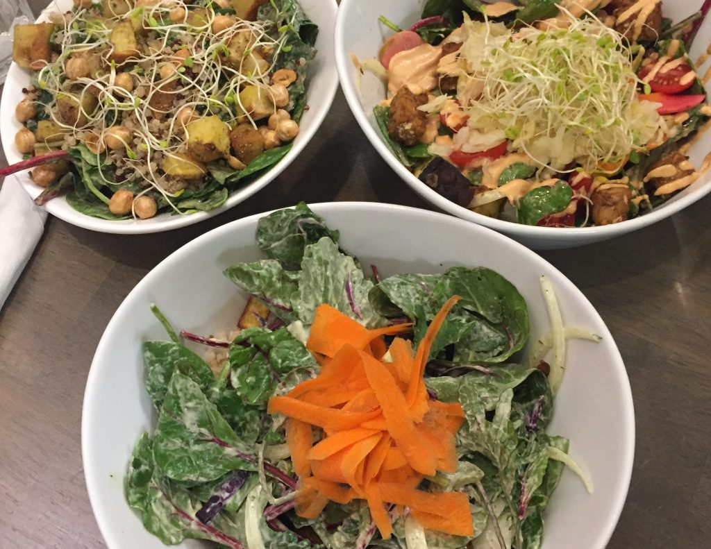 HEALTH AND WELLNESS. Vegan cafe, The Sanctum, provides various grain and veggie based bowls. photo/Jack Rummler