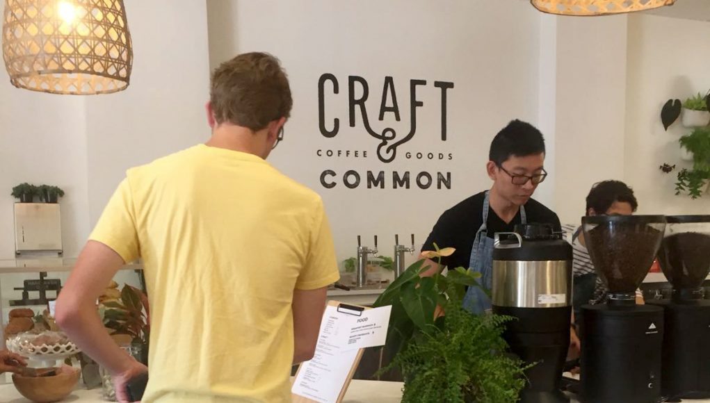 Craft&Common coffee overview