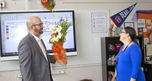 Algebra 1 Kathleen Carroll wins Teacher of the Year