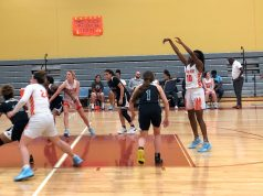 Leilani Guion makes free throw photo/calla curry