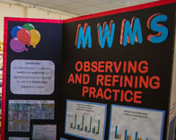 Meadow Woods MS display board