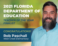 FLDOE Congratulates Rob Paschall headshot graphic