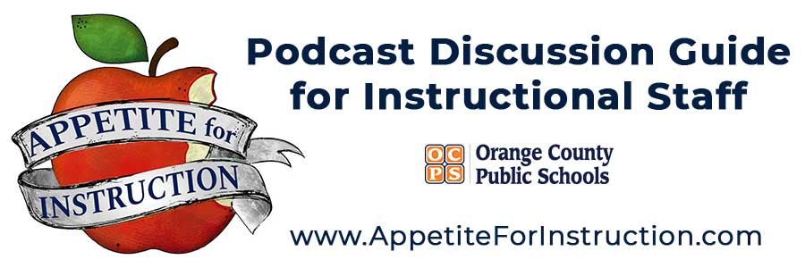 Appetite for Instruction Discussion Guide header - logo